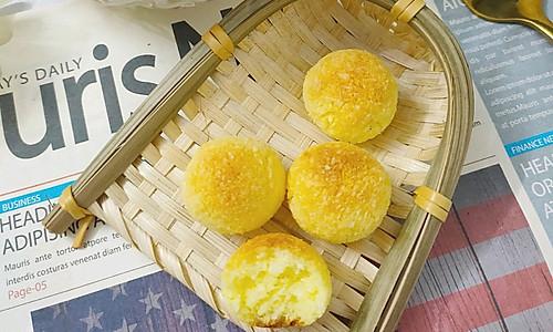 黄金椰丝球 | 一口一个超满足的做法