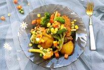夏·知味|五彩斑斓炒时蔬|#我们约饭吧#的做法