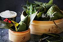 纯糯米粽子(三角粽子包法视频)的做法