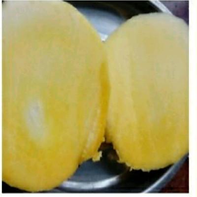 鲜芒果切块的做法 步骤1