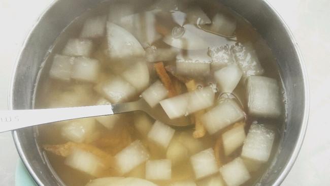陈皮萝卜水的做法