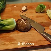 香菇炒青菜#宜家让家更有味#的做法图解2