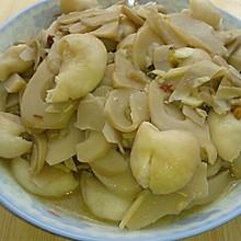 酸笋爆炒猪大肠