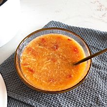 养胃西红柿鸡蛋面汤