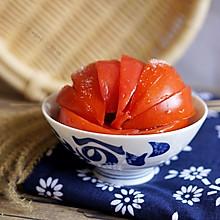甜滋滋凉拌番茄#爽口凉菜,开胃一夏!#