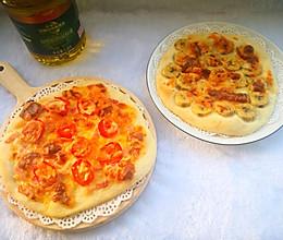 #白色情人节限定美味#手作薄底小披萨的做法