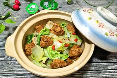 大白菜烩圆子