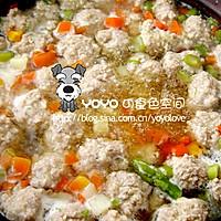 肉丸汤的做法图解4