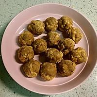 网红青团-咸蛋黄肉松青团的做法图解5