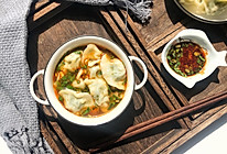 春蔬第一菜,清肝明目鲜美~荠菜饺子的做法