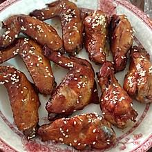 简易红酒芝麻烤翅