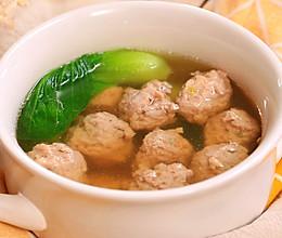 猪肉丸子汤的做法
