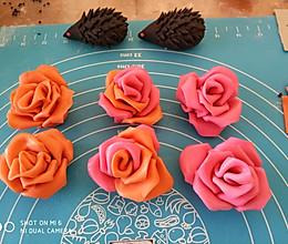玫瑰花卷馒头的做法