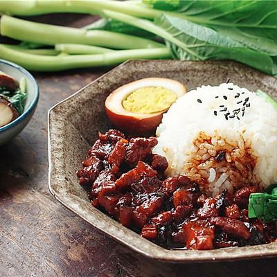 朴实的台式卤肉饭,一碗可以抚慰人心的饭。
