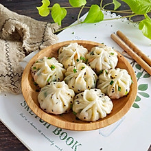 #秋天怎么吃#饺子皮包子
