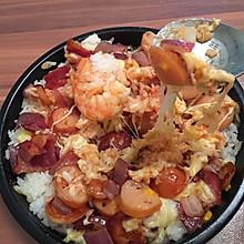 培根香肠焗饭