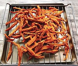 烤红薯干的做法