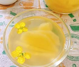 #换着花样吃早餐#荸荠苹果茶的做法