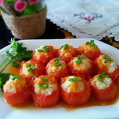 猪肉土豆酿西红柿