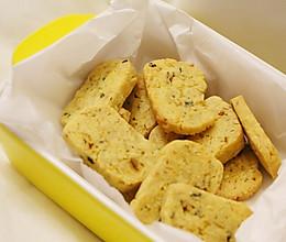 咸蛋黄烤饼干的做法