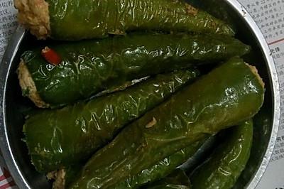 酿尖椒(尖椒酿肉)