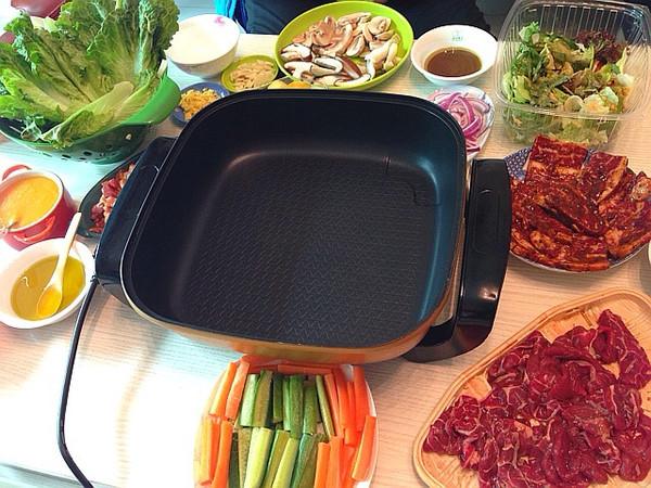 家庭韩式烧烤的做法