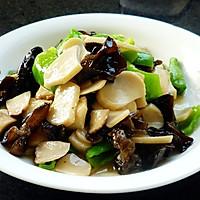 杏鲍菇炒青椒的做法图解5