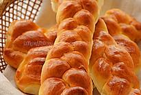 奶油麻花面包#松下烘焙魔法学院#的做法