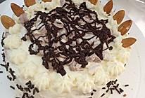 屁屁的生日蛋糕!【巧克力蓝莓果酱杏仁蛋糕】的做法