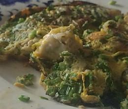 韭香生蚝煎蛋的做法