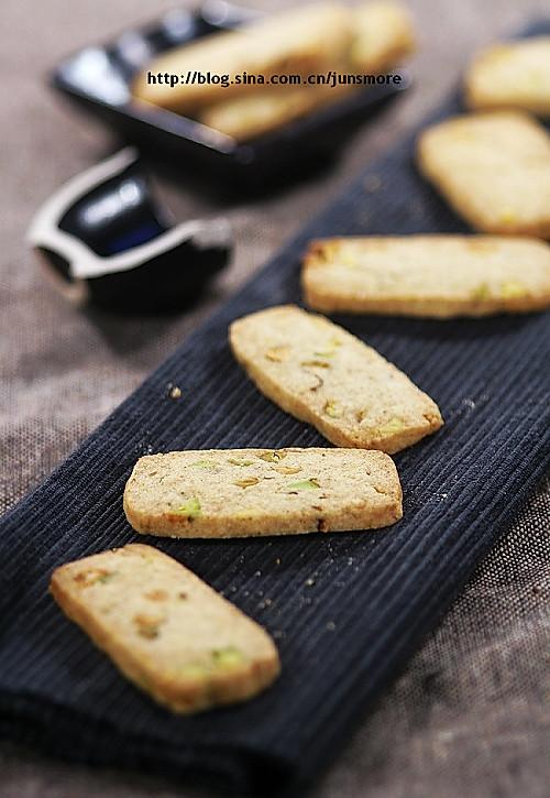 开心果黄油饼干的做法