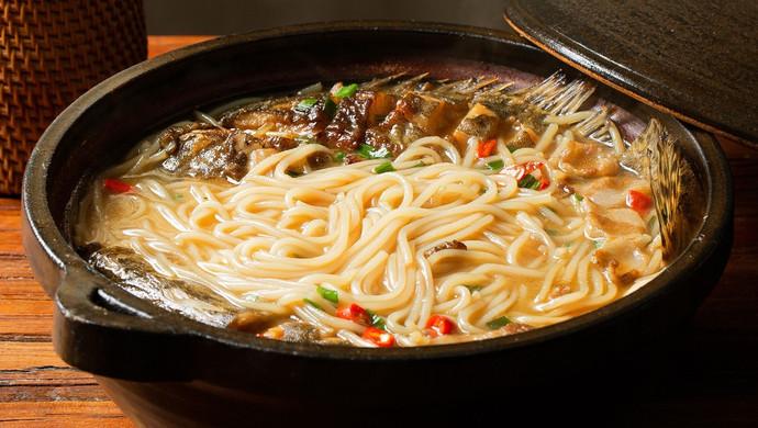 【米粉鳜鱼】吃米粉,江西人的方法超鲜美!