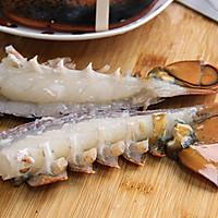 ·龙虾粥·鲜美养生粥 附详细的大龙虾分解方法的做法图解6