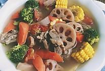 彩蔬玉米猪骨汤#德国MIJI爱心菜#的做法
