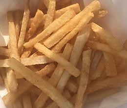 炸薯条呀的做法