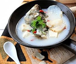 #高考神菜# 有助增强记忆力的舒肝明目汤【天麻鱼头汤】的做法