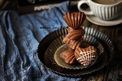 心型巧克力玛德琳蛋糕
