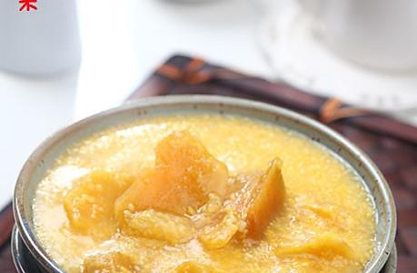 棒茬子红薯粥的做法