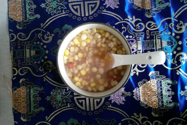 玉米八寶粥的做法