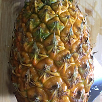 香水菠萝炒饭#浪漫樱花季#的做法图解1