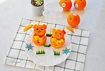 小熊橙子果盘的做法