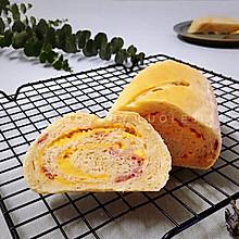 #换着花样吃早餐#培根芝士面包卷(一次发酵)