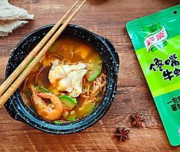 海鲜嫩豆腐汤的做法