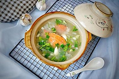 #洗手作羹汤#捞只蟹子做汤喝