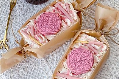 樱花奥利奥蛋糕