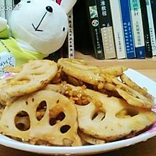 素藕片炒出海鲜味