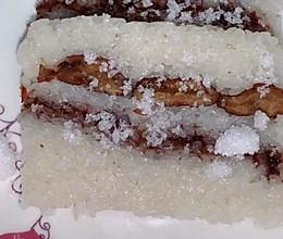 #人人能开小吃店#Q弹两味切糕的做法
