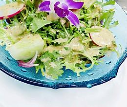 橄榄油黑醋芥香沙拉的做法