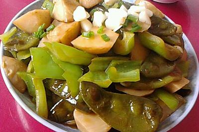 芋头烧扁豆