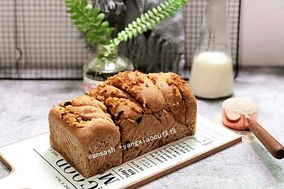 麦香肉松手撕面包